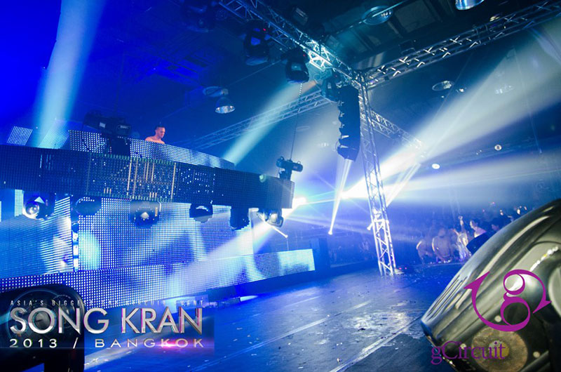 GALACTICA MAIN PARTY, GCIRCUIT'S SONG KRAN 2013